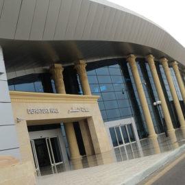 الاشراف علي رفع كفاءة المباني الخدمية بممر 5 – 23 – مطار القاهرة